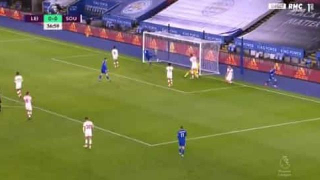 Maddison adiantou Leicester no marcador à 'lei da bomba'