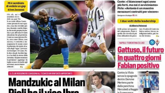 Lá fora: Ronaldo em 'noite de gigantes' e Bruno 'à caça' da liderança