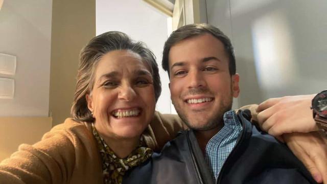 """Ângela Pinto elogia """"enorme coração"""" de David Carreira"""