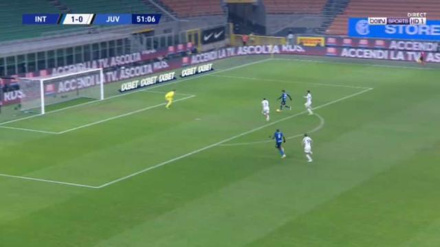 O golo do Inter que deixou os adeptos da Juventus furiosos