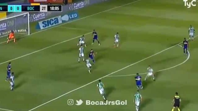 O golaço de Cardona pelo Boca que ajudou à conquista da Taça Maradona