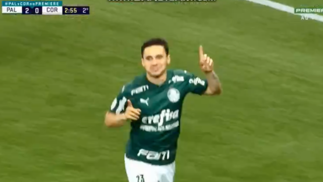 Mais um golo e Palmeiras de Abel já arrasa o Corinthians