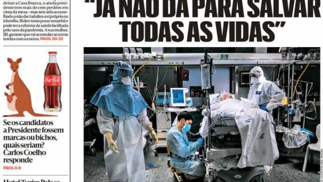 Hoje é notícia: Mais de dois mil mortos em 17 dias; 1/3 vai despedir