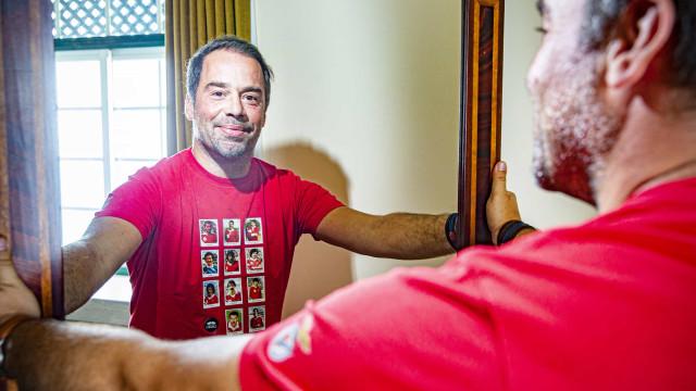 Luís Filipe Borges. A paternidade, a saída do '5' e o que o irrita na TV