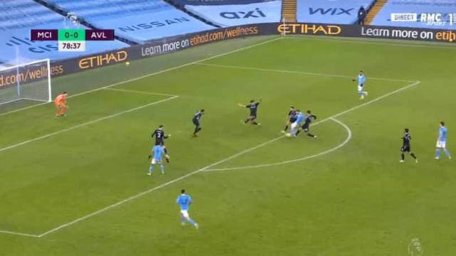 O golaço de Bernardo Silva que deixou o City na liderança (provisória)