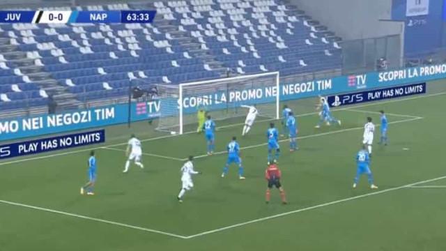 Ronaldo desbloqueou Supertaça de Itália com 'bomba' à boca da baliza