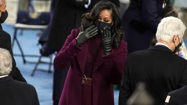 Michelle Obama avivou a memória dos EUA da sua classe e sofisticação