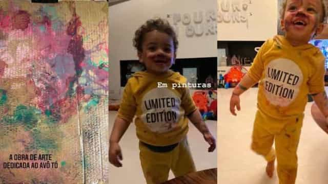 Vídeo. Rita Pereira desfruta de bons momentos com o filho