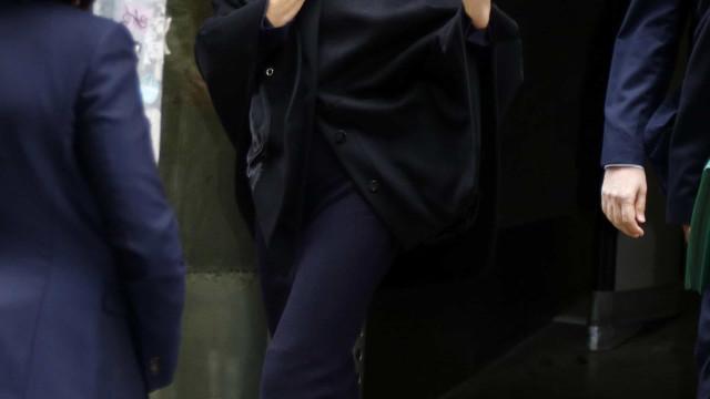 Rainha Letizia aparece em público depois de duas semanas ausente