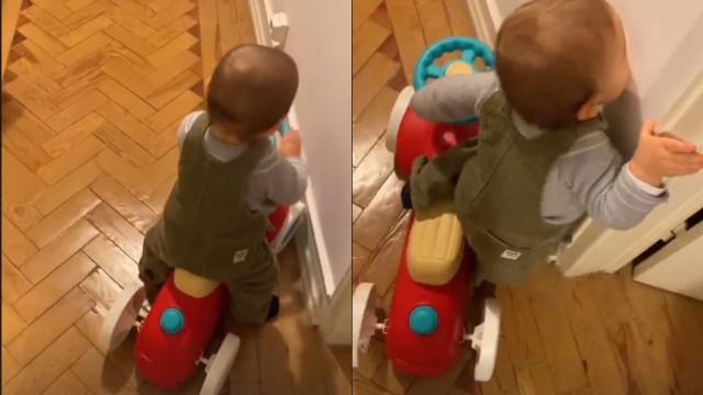 Benedita Pereira anima seguidores com vídeo amoroso do filho