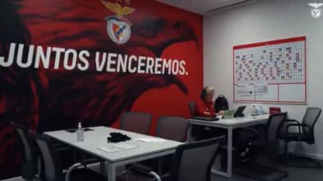 """Benfica abre as portas do Seixal e mostra """"novas rotinas"""""""