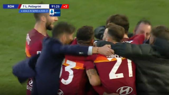 AS Roma salvou-se nos descontos e Paulo Fonseca foi à loucura