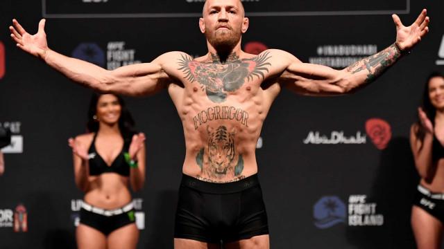 Conor McGregor ultrapassa CR7 e é o atleta mais bem pago do mundo