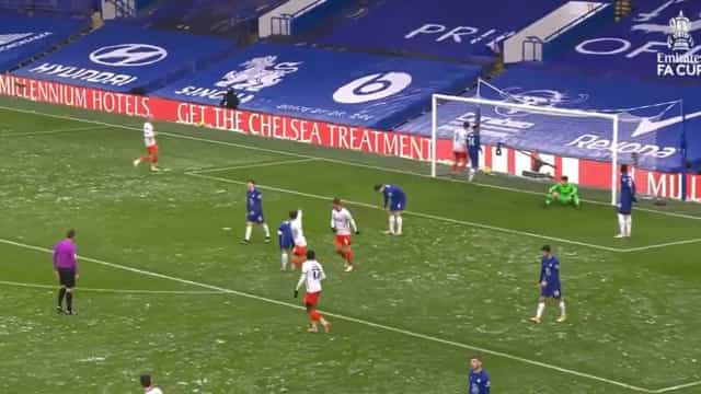 'Ai Kepa, Kepa': Mais um golo anedótico para o guardião do Chelsea