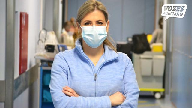 Do medo à esperança. Ana Isabel Ribeiro administrou a 1.ª vacina cá