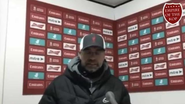 A 'azeda' reação de Klopp ao golo decisivo de Bruno Fernandes