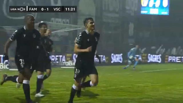 André Almeida colocou o Vitória SC a vencer em Famalicão com esta 'bomba'