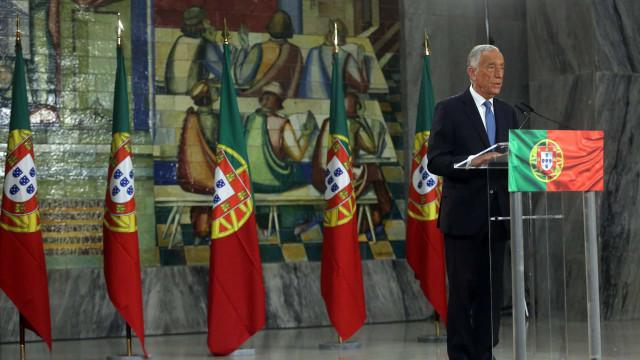 AO MINUTO: Marcelo reeleito, Ana Gomes faz história e Ventura a festa