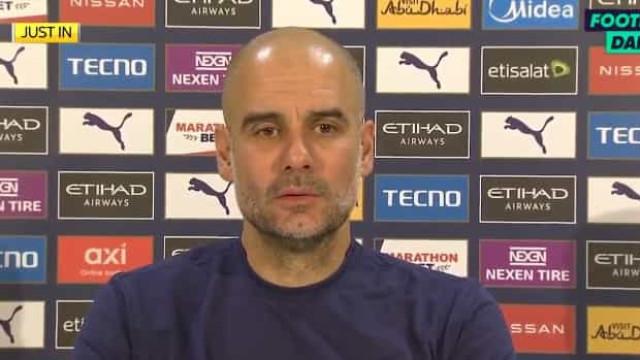 """Guardiola reage ao despedimento de Lampard: """"Ou ganhas ou és despedido"""""""