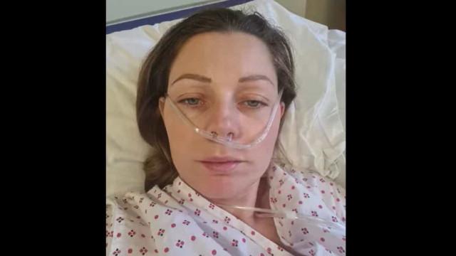 Mãe agradece a profissionais de saúde por a terem salvado da Covid-19