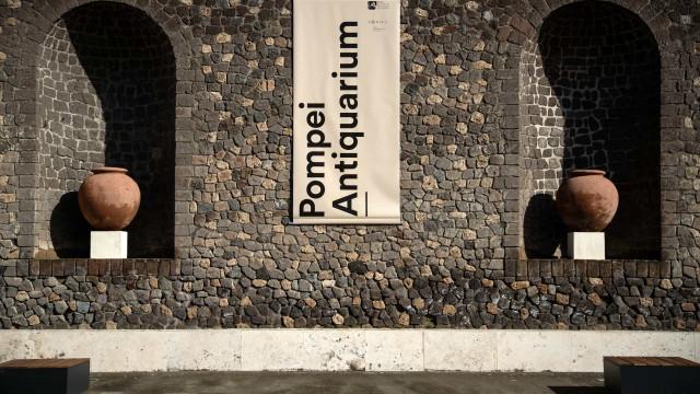 Pompeia inaugura museu onde se podem ver algumas das descobertas