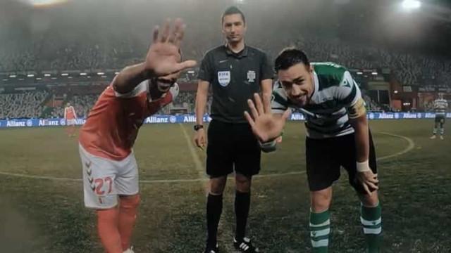 O trajeto da bola da Taça da Liga: Das mãos das crianças às dos jogadores