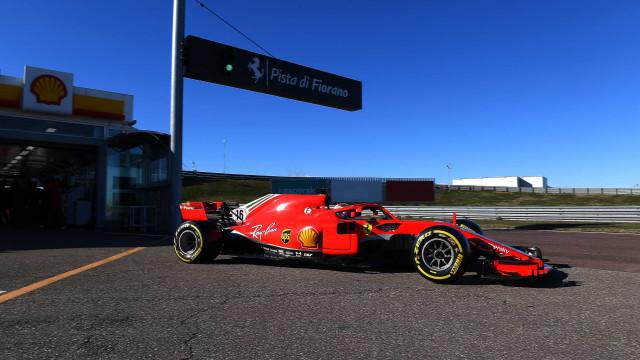 Charles Leclerc voltou às pistas em Fiorano. Veja as imagens