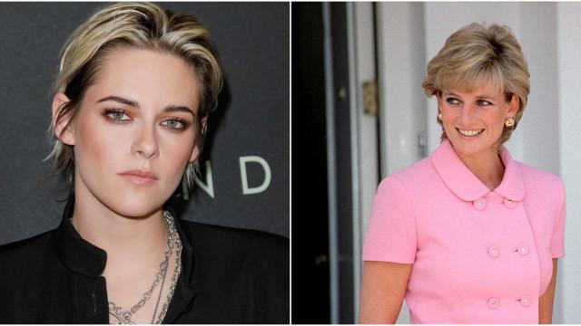 A primeira imagem de Kristen Stewart na pele da princesa Diana