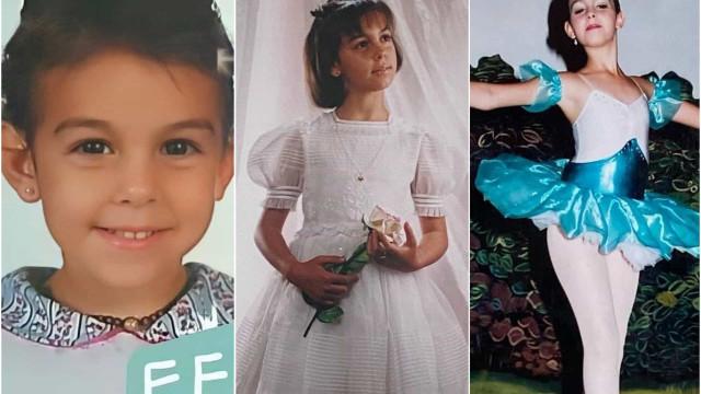 As fotos que ainda não viu! A infância de Georgina Rodríguez em imagens