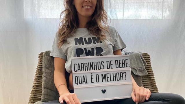 """Marta Rangel de 'Casados': """"Às 30 semanas de gravidez, tenho 53,6 kg"""""""