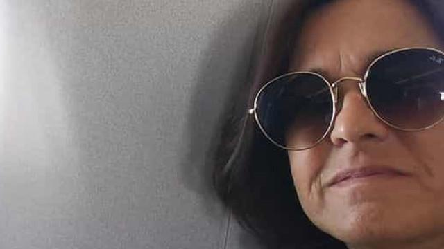 Rita Salema homenageia Maria João Abreu na praia