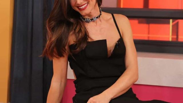 Cláudia Vieira fala sobre Sara Matos em rara ocasião