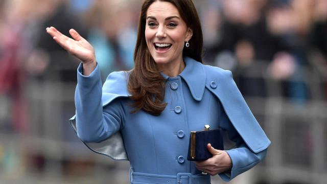 Kate Middleton desempenha um papel curioso no seio da família real