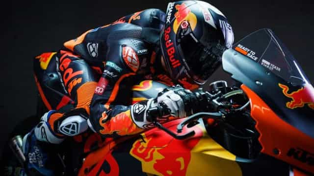 As primeiras imagens de Miguel Oliveira em pista pela KTM