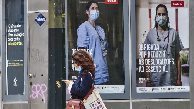Portugal regista mais 49 mortos e 1.160 casos confirmados de Covid-19