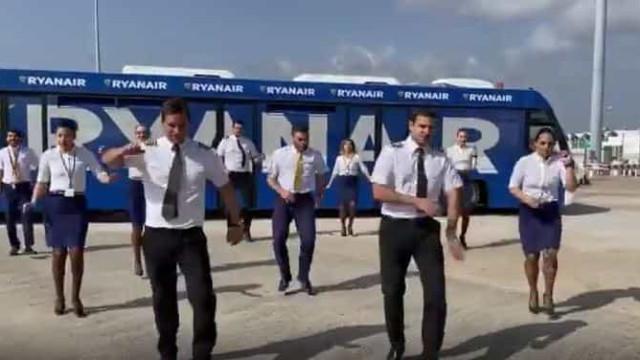 Com tripulantes em terra, Ryanair adere ao #JerusalemaChallenge