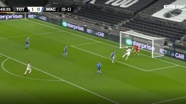 Soberba assistência de Dele Alli e Vinícius fez o segundo do Tottenham