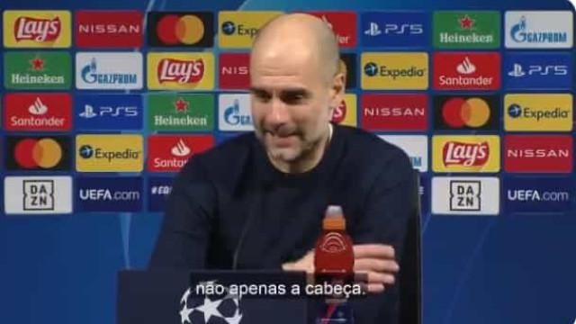"""Guardiola e a qualidade inesperada de Bernardo Silva: """"Muito bom"""""""