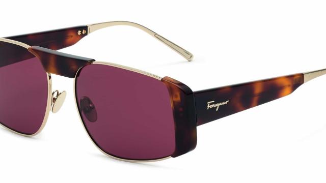 Salvatore Ferragamo apresenta novos modelos de óculos de sol modernos