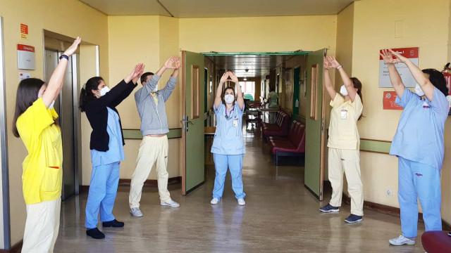 Amadora-Sintra com sessões de relaxação para os profissionais de saúde
