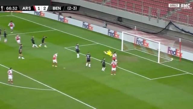 Tierney aproveitou passividade do Benfica e empatou jogo na Grécia