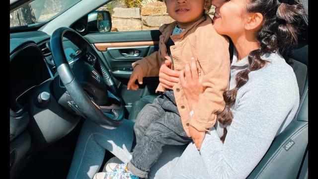 Vídeo. Rita Pereira mostra veia de artista do filho de dois anos