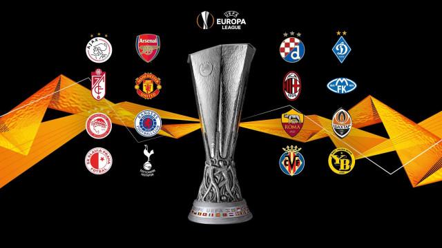 Duelo português e uma final antecipada nos 'oitavos' da Liga Europa