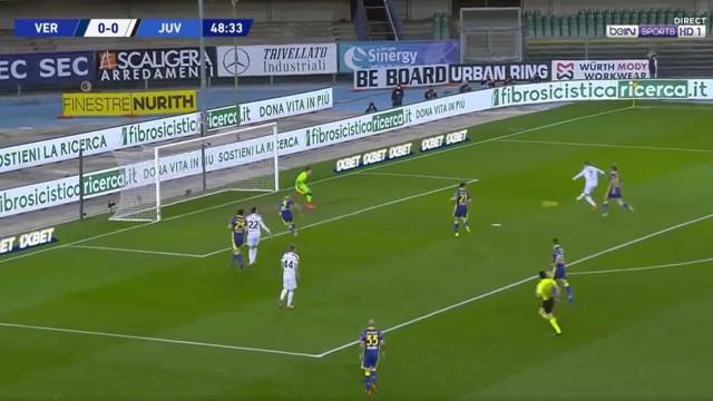 Ronaldo (quem mais?) quebrou o nulo frente ao Hellas Verona