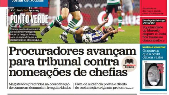 Hoje é notícia: Popularidade de Marcelo dispara; Há mais prostituição