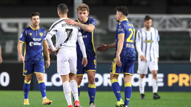 CR7 fartou-se de tanto apito e italianos revelam pedido ao árbitro