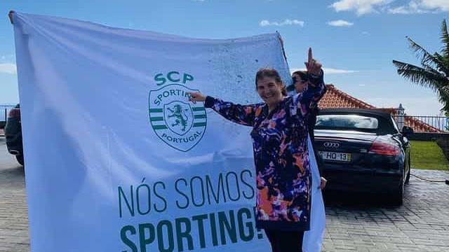 Vídeo. Dolores Aveiro e família em (grande) festa após jogo do Sporting