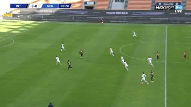 Lukaku arrancou e marcou um dos golos mais rápidos da carreira