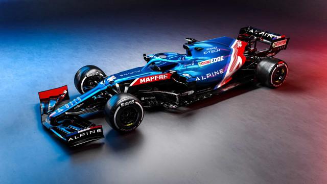 Alpine apresenta o novo carro de Alonso e Ocon para 2021
