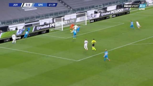 VAR verificou e 'deixou' Juventus festejar o golo de Morata